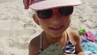 VLOG. Играем на море в интересную карточную игру для детей СЕМЬЯ
