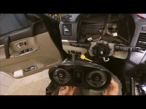 Mitsubishi Pajero 3.8 - Замена шлейфа и восстановление лампы Check Engine