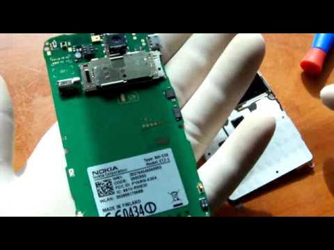 How to assembly,disassembly Nokia E72 montaż/demontaż