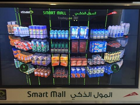 Trolley Dubai Online Grocery Store - Etisalat Smart Mall with RTA