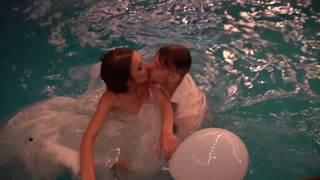 Так должна заканчиваться любая свадьба возле басейна. Такого Вы еще не видели.