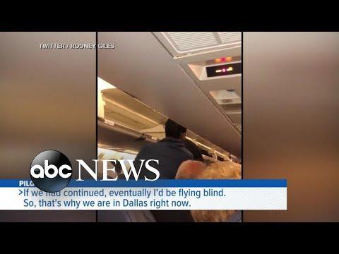 Randi West - Pilot screen goes blank mid flight