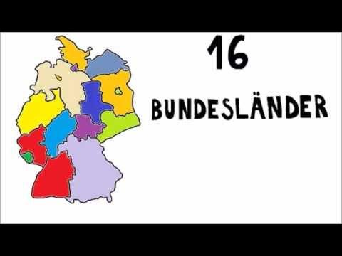 Deutschlands Bundesländer und Landeshauptstädte