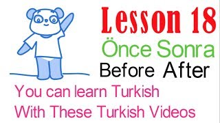 Learn Turkish Through Turkish Lesson 18 - Directions (Part 2)
