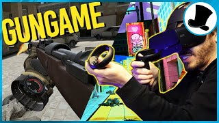 We Play Call of Duty's Gun Game in VR!