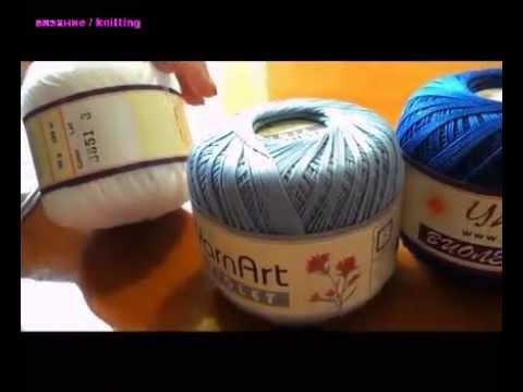 Видео уроки,схемы вязания крючком и
