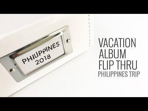 Vacation Album Flip Through | Philippines 2018