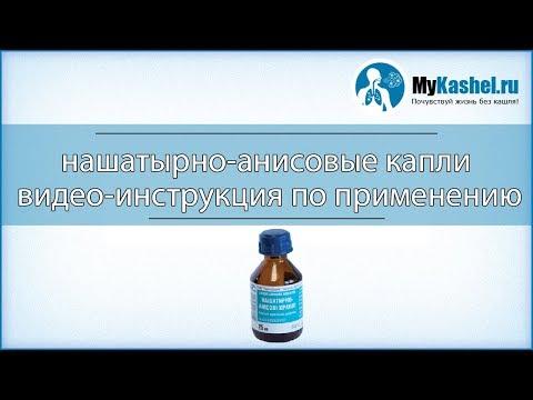 Капли Нашатырно-Анисовые - инструкция по применению