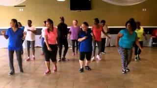432 Cha Cha Line Dance - New Orleans, LA