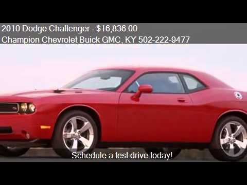2010 dodge challenger se 2dr coupe for sale in la grange ky youtube. Black Bedroom Furniture Sets. Home Design Ideas