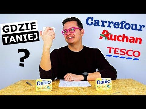 TESCO vs. AUCHAN vs. CARREFOUR - GDZIE NAJTANIEJ?!