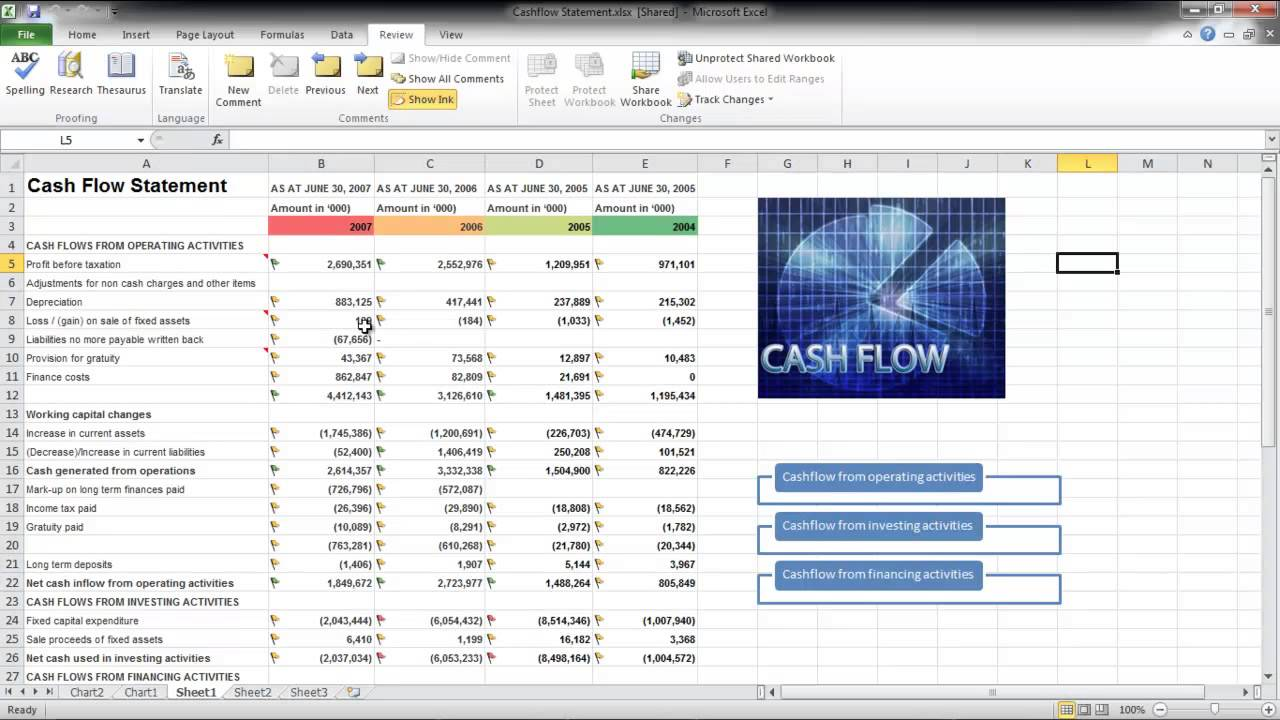 How to Share a Workbook and Track Changes in Excel - YouTube