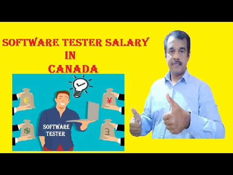 Software Tester Salary In Canada | Testingshala