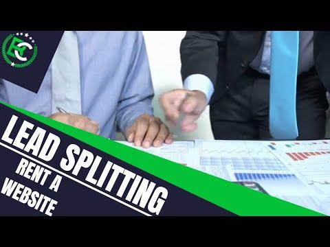 Lead Splitting: Improve Your Lead Quality!   Rent A Website Today! - Видео онлайн