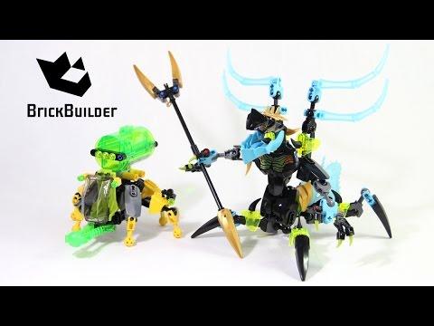 Lego Hero Factory 44029 QUEEN Beast vs. FURNO, EVO & STORMER - Speed Build
