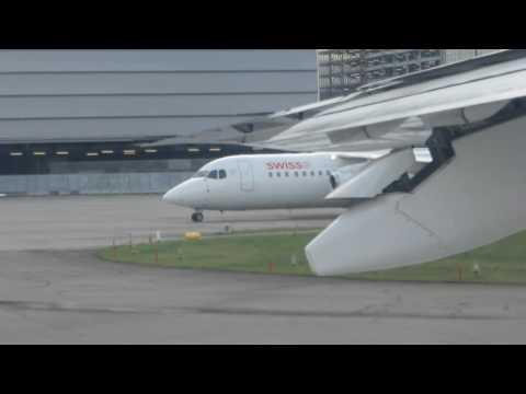 SWISS European+Lufthansa Regional/Zurich-Munich-Brussels/Economy/Avro 100+EMB 195/DEC2014