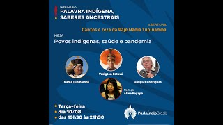 Webinário Palavra Indígena, Saberes Ancestrais (10/08/2021)