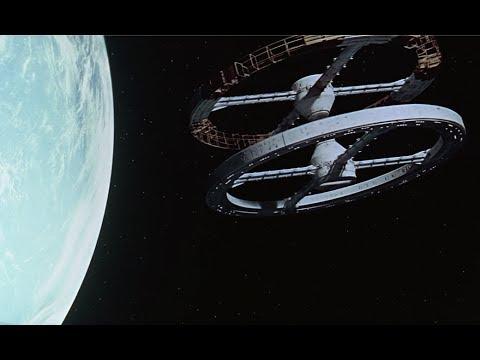 2001: A Space Odyssey (1968) - 'The Blue Danube' (waltz) scene [1080p]