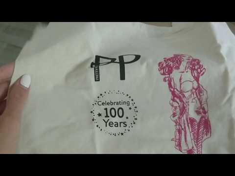Unboxing Pretty Polly 100 years special package from UKtights