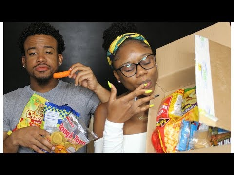TRYING CARIBBEAN SNACKS!! My Life Is Made   Tasty Island Crate