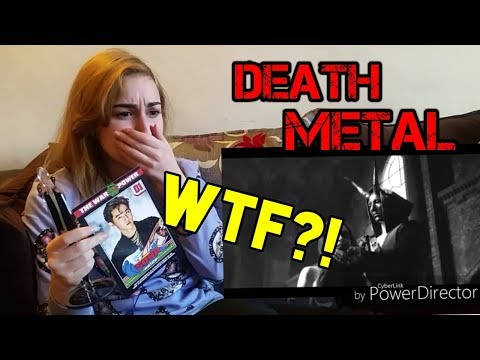 KPOP FAN REACTION TO DEATH METAL  Emotionally Traumatized