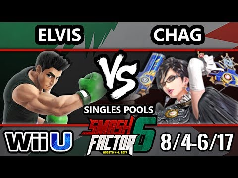 Smash Factor 6 Smash 4 - HY | Chag (Bayonetta) Vs. MPS | Elvis (Little Mac) Smash Wii U