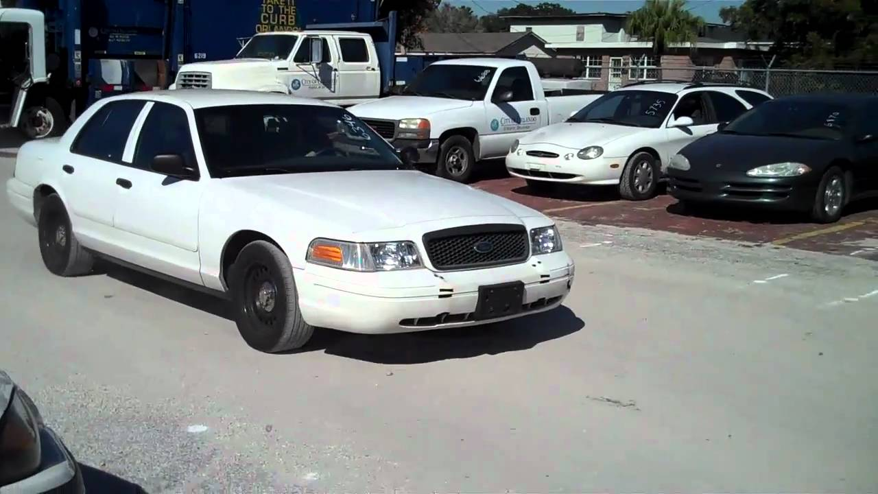 2001 ford crown victoria p71 police interceptor 4 6l v8