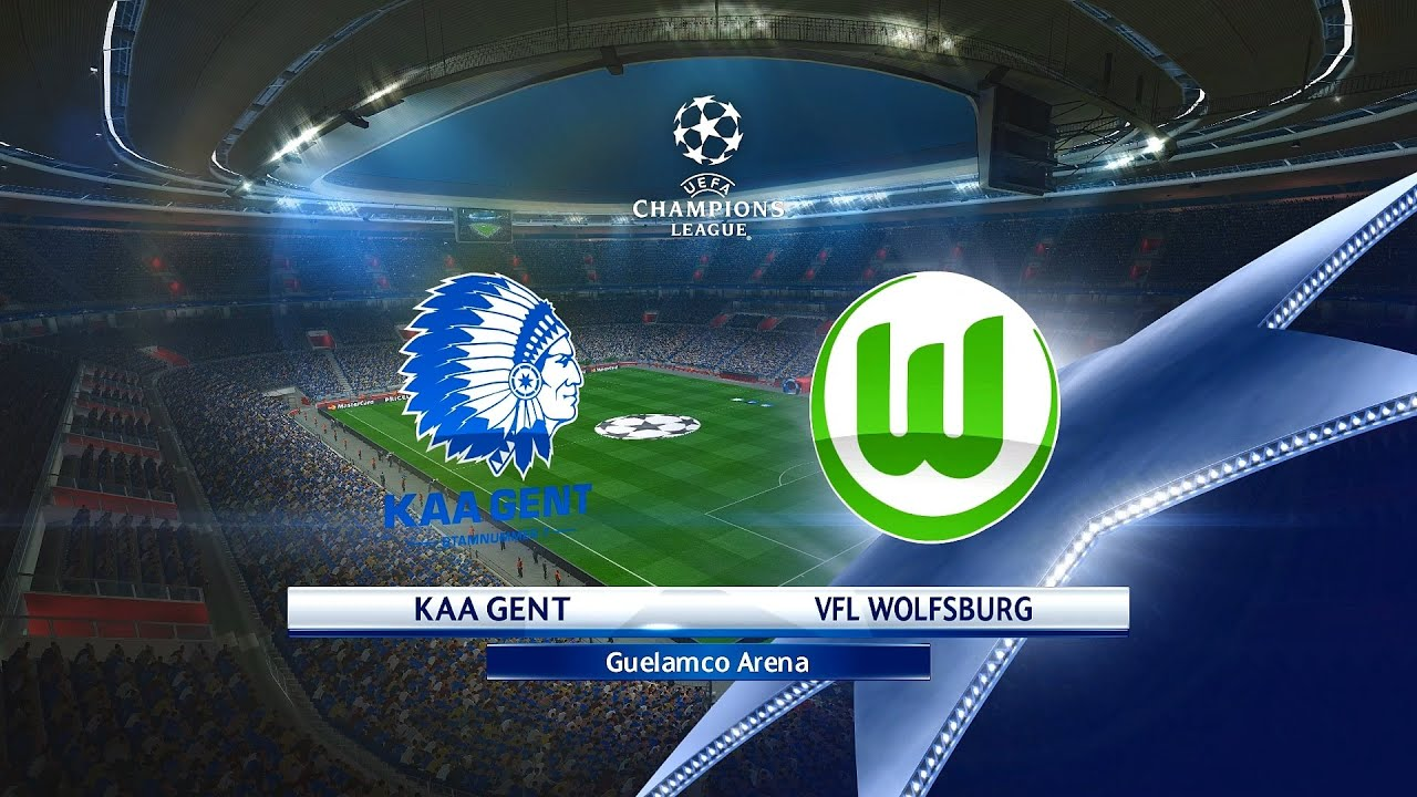 Champions League 1st Leg Kaa Gent Vs Vfl Wolfsburg In