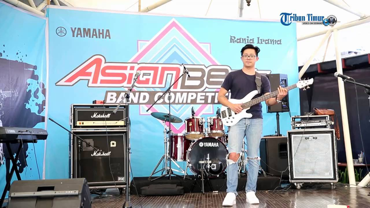 Aksi Ronald Steven di Yamaha Asian Beat Competition 2016