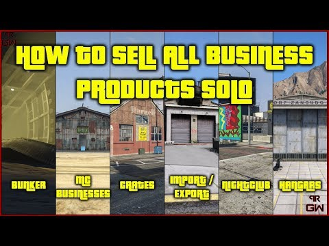 How To Sell All Business Products SOLO !! Never Depend On Anyone !! - GTA 5 Online 2020