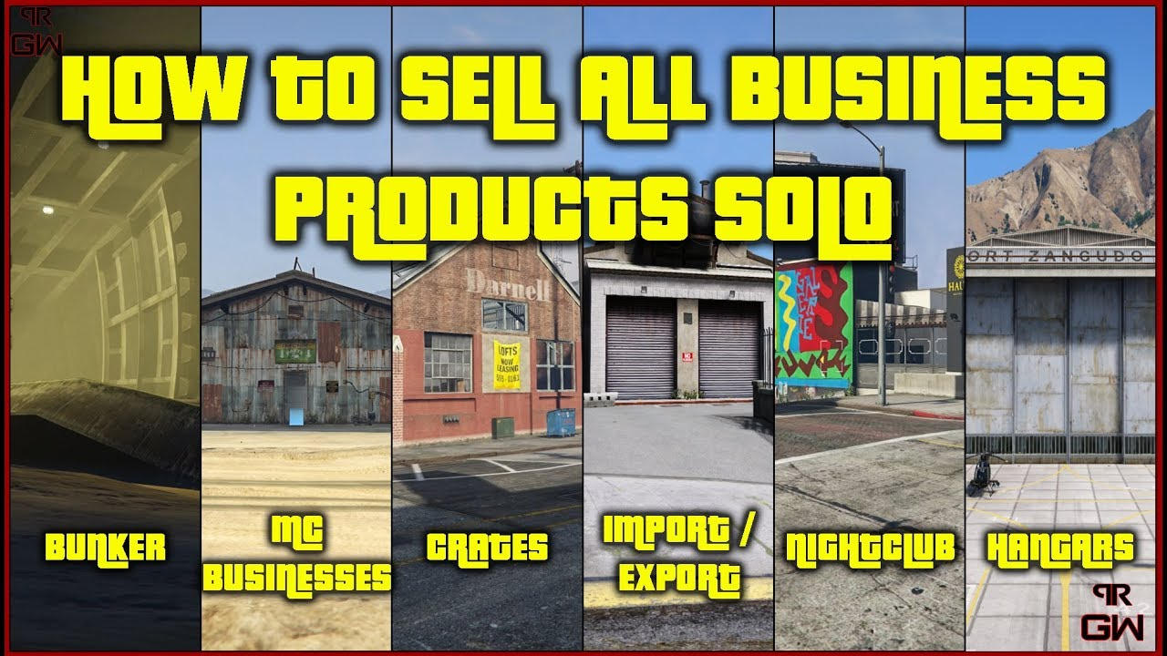 How to sell all Businesses products SOLO !! Never depend on