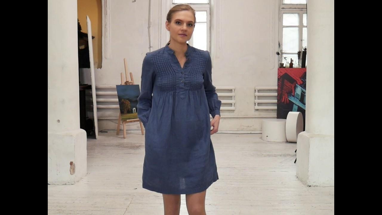 7f2704c3e0 Blueberry Linen Tunic Sofie - YouTube