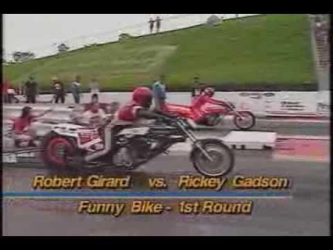 Motorcycle Drag Racing 1993 Prostar Springnationals Rockingham