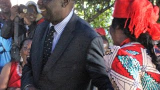 Tsvangirai speaks about his cancer disease, blames gov for loss lives