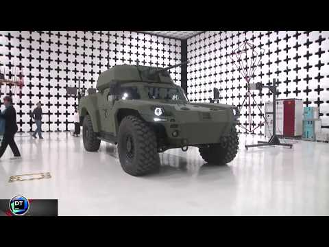 Turkey company unveils modern electric-armored-vehicle