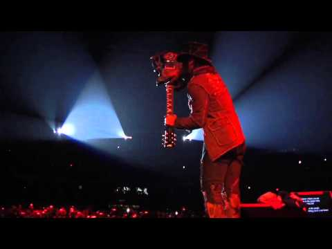 Guns 'N Roses – GNR South American tour montage