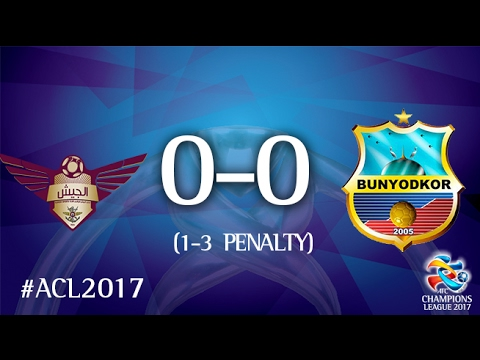 El Jaish SC vs FC Bunyodkor (AFC Champions League 2017:Play-off Stage)