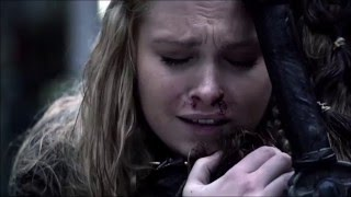 Clarke and Lexa | Footprints - Sia