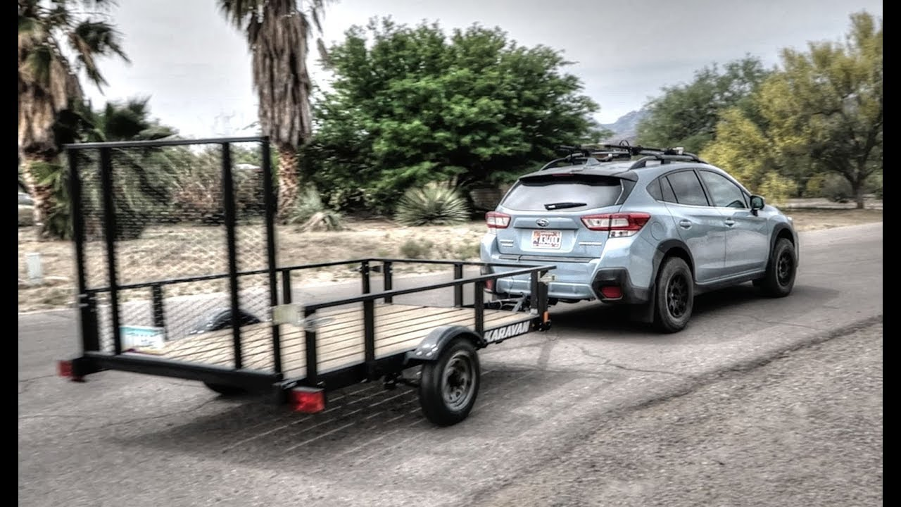 Towing Capacity Subaru Crosstrek >> 2018 Crosstrek Towing With The Crosstrek Youtube