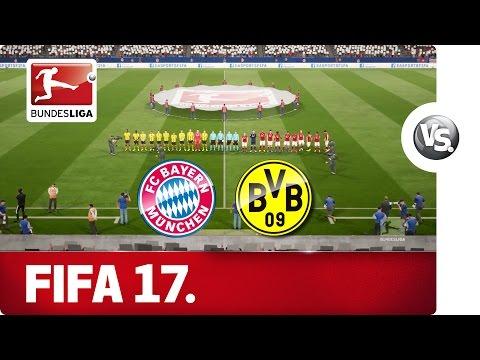 FC Bayern München vs. Borussia Dortmund - FIFA 17 Prediction with EA Sports