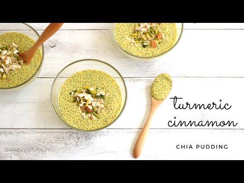 Turmeric Chia Pudding Recipe | Golden Milk Chia Pudding | Chia Pudding for WEIGHTLOSS