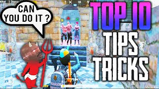 Pubg Mobile Top 10 Tips And Tricks for Defenders | Infection Mode