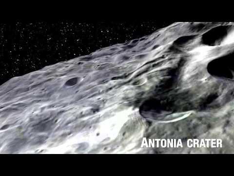Dawn Spacecraft's Farewell Portrait of Giant Asteroid Vesta