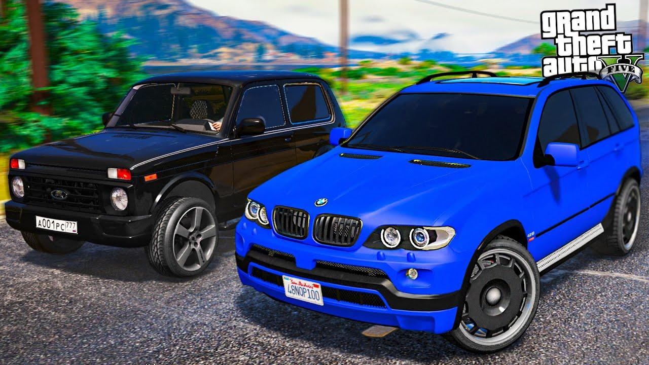 ШКОЛЬНИК УГНАЛ BMW X5 E53! НАКАЗАЛ МАЛОГО БАНДИТА! - РЕАЛЬНЫЕ ПАЦАНЫ В GTA 5