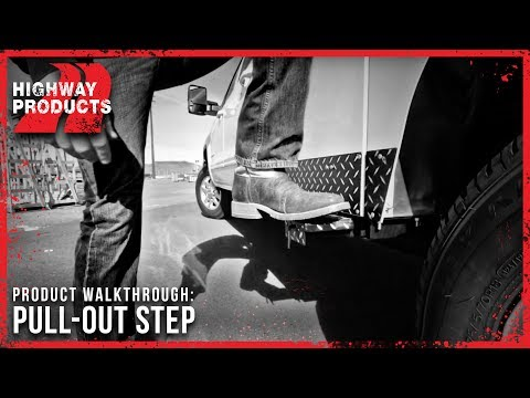 Highway Products | Pull-Out Steps