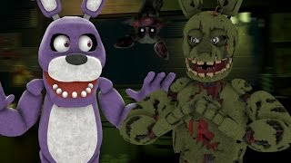 Five Nights at Freddy's 3 (Night 1-2) || SPOOKY SCARY SPRINGTRAP