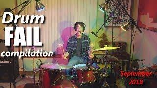 Drum FAIL compilation September 2018   RockStar FAIL