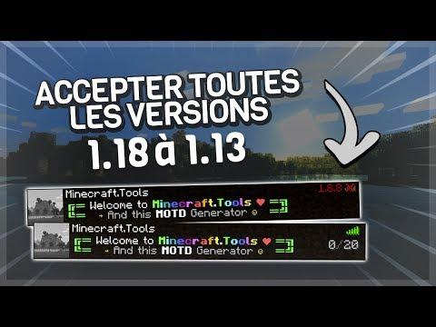 TUTORIEL PLUGIN - Autoriser Toutes Les Versions Sur Son Serveur Minecraft