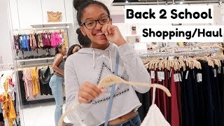 BACK TO SCHOOL SHOPPING/HAUL