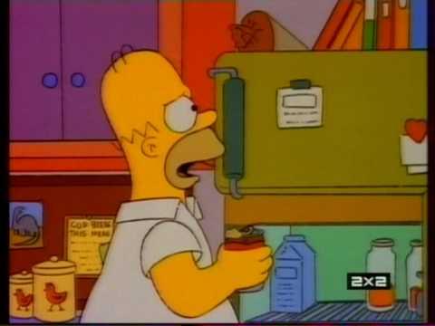 Барт разыгрывает Гомера